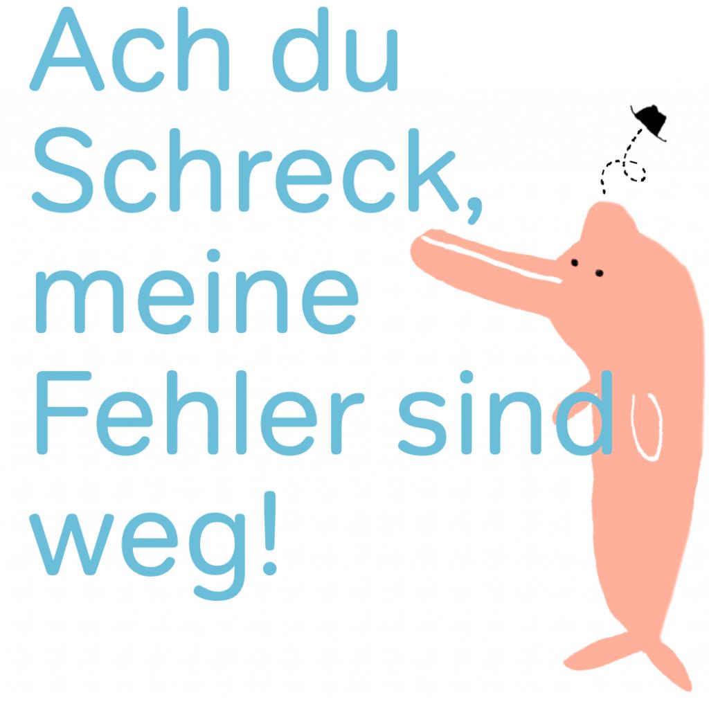 Lernbar Wien, Bernadette Mayrhofer, Ach du Schreck meine Fehler sind weg!